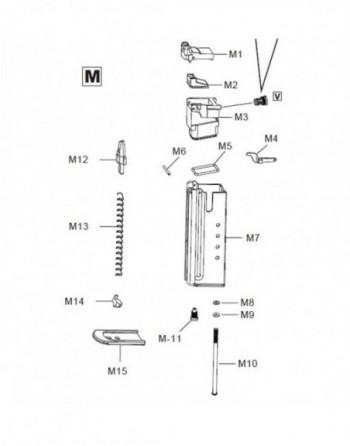 "Revólver Manual UHC 939B .357 2,5"" Negro"