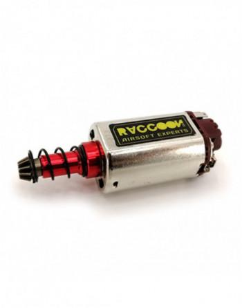 """Silenciador ACM 110x30x14mm. L/R modelo """"Holes"""" Metal color Negro"""