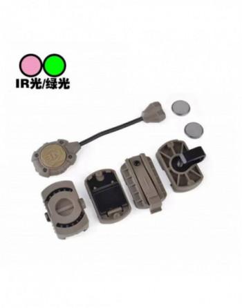 Silenciador MK23 CUSTOM 200x35x14mm. L Fluted 6 orificios color Negro