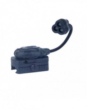 Pistola Gas Blowback KP23 G23 Verde / Negro ABS marca KJ Works