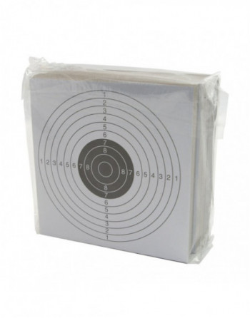 ASG - TARGET PAPERS 100PCS