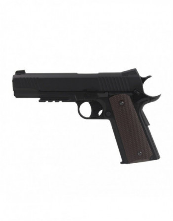 Funda pistola tobillera ST29 ajustable con velcro color Negro marca ACM