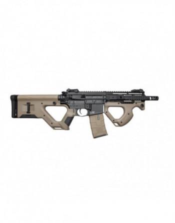 Pistola Manual SMITH&WESSON M&P9c color Tan/Negro marca CYBERGUN (320134)